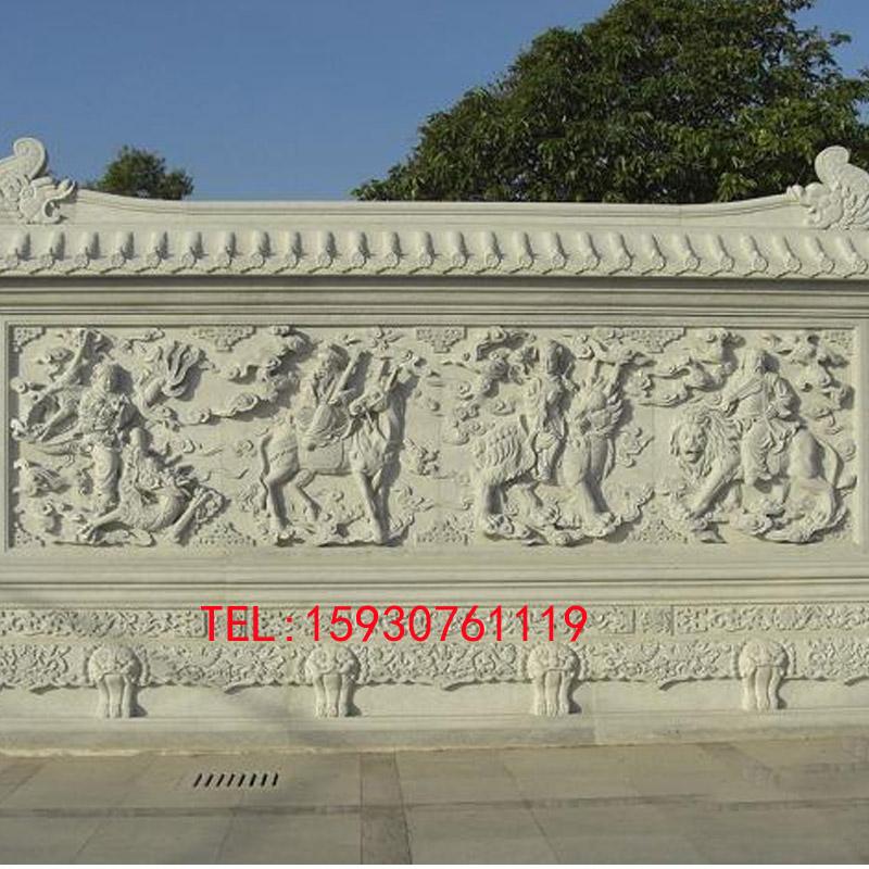 石雕大理石浮雕背景墙壁画 大型广场公园浮雕雕刻文化